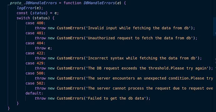DB_Errors